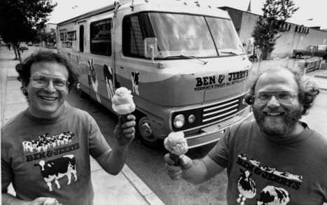 When we were small: The story behind Ben & Jerry's | Money Saving Ideas for Small Businesses | Scoop.it