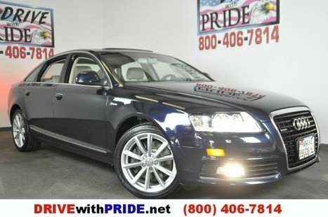 2010 Audi A6 3.0T quattro Tiptronic V6 AWD NAVIGATION LEATHER BOSE HEATED SEA Houston, Texas   DRIVE with PRIDE   Drive With Pride   Scoop.it