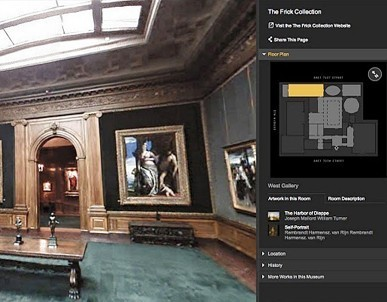 Google Takes Street View Inside 17 Museums for Virtual Tours | Museos y nuevas tecnologías | Scoop.it