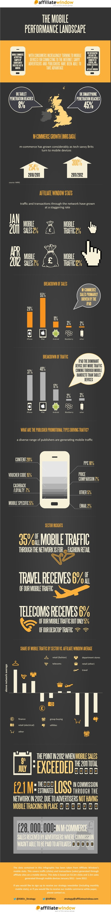 iPad - Mobile Platform getting over 55% eCommerce Sales | All Infographics | All Infographics | Scoop.it