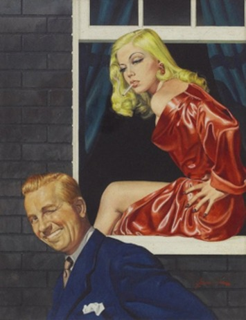 The Pulp Art of George Gross | Antiques & Vintage Collectibles | Scoop.it
