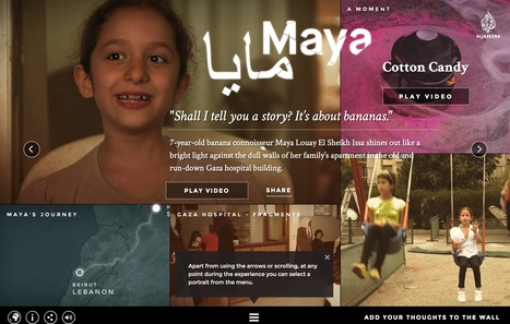 Al Jazeera | Life on Hold | Interactive & Immersive Journalism | Scoop.it