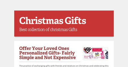 Offer Your Loved Ones Personalized Gifts- Fairly Simple and Not Expensive | UK Designs Direct | Scoop.it