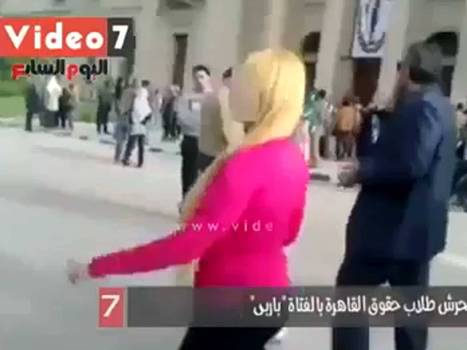 What happens when a female student in a hot pink top walks through Cairo University? | Research Capacity-Building in Africa | Scoop.it