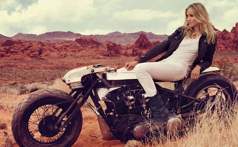 CAMERON | DESERT SPIKE | KIMURA DIAZ | Vintage Motorbikes | Scoop.it