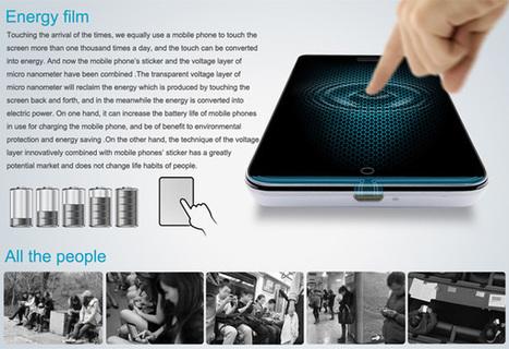 Energy Touch – Touchscreen Phone Display With Energy Feature | Ma veille - Technos et Réseaux Sociaux | Scoop.it