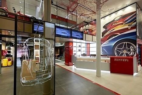 Ferrari Store opens new flagship in Milan | Italia Mia | Scoop.it