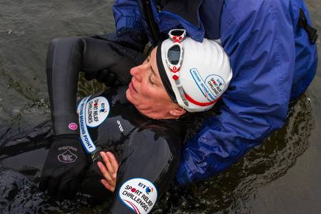 Sports Relief 2014: Unbelievable video shows Davina McCall collapse with hypothermia after lake swim as part of 500-mile triathlon   Unit 3 - Contemporary Issues   Scoop.it
