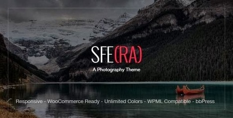 Sfera Premium Photography Theme | Free Download Template | Scoop.it