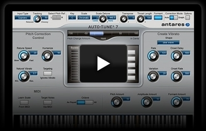 Auto-Tune & Vocal Processing Tools by Antares > Products >Auto-Tune 7 | Autotune | Scoop.it