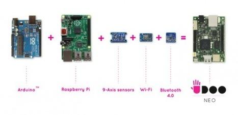 UDOO Neo = Raspberry Pi + Arduino + Wi-Fi + BT 4.0 + Sensors | Raspberry Pi | Scoop.it