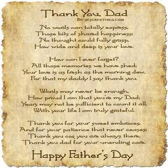 Father's Day Poems, Poems About Fathers, Father's Day Poetry | Fathers Day 2014 Quotes, Wishes, Images, Clip Art, Cakes, Gift Ideas | Scoop.it
