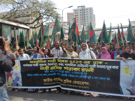International Women's Day observed - Bangladesh | Population and Progress: Human Development and Innovation | Scoop.it