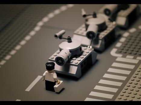 EN IMAGES. Une collection de photos célèbres... en Lego   Lego is not a game... not only   Scoop.it