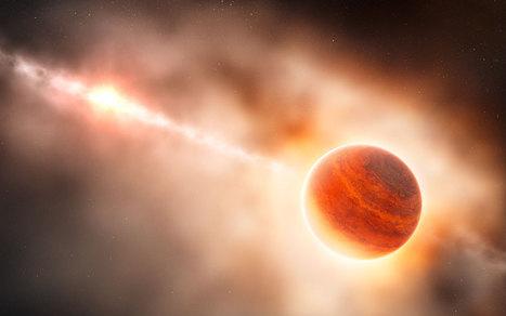 Le VLT observe en direct la naissance d'une planète géante - Futura Sciences | De plume et d'écran | Scoop.it