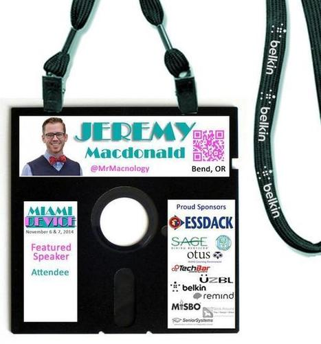Badge concept for @MiamiDevice attendees | Technology in Education | Scoop.it