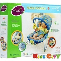 Buy MASTELA MUSICAL MELODIES BOUNCER - 30725 | Discounts India | Scoop.it