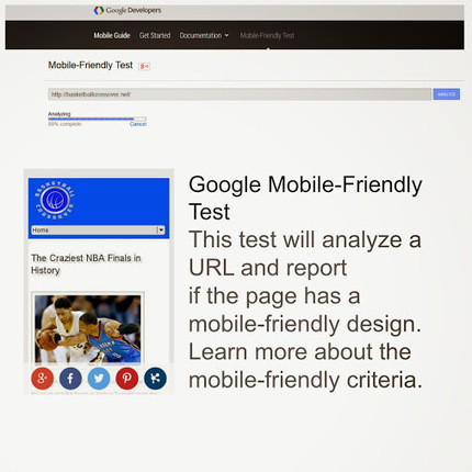 Google Mobile-Friendly Test<br/>Prepare yourself for the next Google update on&hellip; | Internet Marketing and Content Curation | Scoop.it