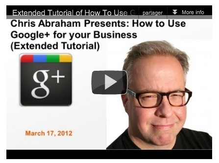 Extended How To Use Google+ For Business Video Tutorial | Better know and better use Social Media today (facebook, twitter...) | Scoop.it