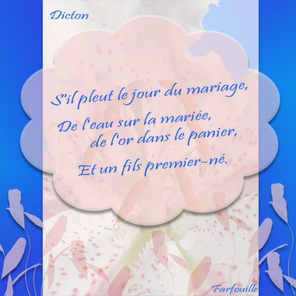 Dicton Dictons - Les dictons du jour et dictons populaires | poesie-citation | Scoop.it