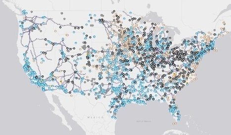 Tour the Country's Energy Infrastructure Through A New Interactive Map | green infographics | Scoop.it