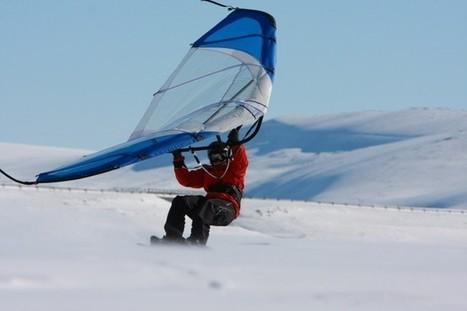 Kitewing, Hangboard, Yooner... des ovnis envahissent nos pistes de ski ! | yooner | Scoop.it