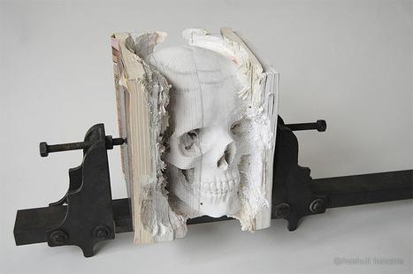 A Skull of Books | Amazing Paper | Scoop.it