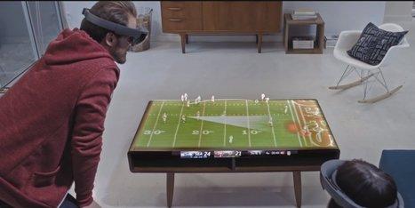 Comment on regardera un match dans le futur (selon Microsoft) | Post-Sapiens, les êtres technologiques | Scoop.it