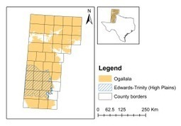 AgriLife Research study: Distinct geographical pattern in Texas' Ogallala Aquifer water quality | AgriLife Today | Groundwater | Scoop.it