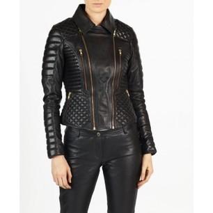 Angelina hELium Women Fashion Biker Leather Jacket hE^2   Leather   Scoop.it