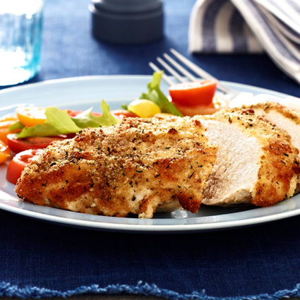 Parmesan Crusted Chicken & More Easy Recipes! + Giveaway - A Mom's Take | Foodie | Scoop.it