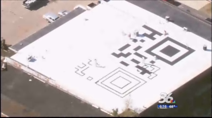 World's largest QR code created in Charlotte | QR-Code and its applications | Scoop.it