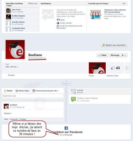 Comment obtenir +500 fans Facebook en une heure gratuitement ! | Easytutoriel.com | mohamed lara | Scoop.it