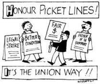 STUDENTS: This is Why You Shouldn't Cross the Picket Lines Tomorrow! | Business Studies | Scoop.it