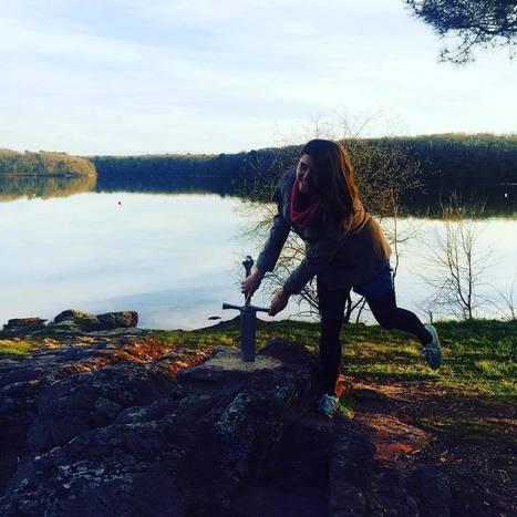 "Tinker on Instagram: ""J'ai trouvé Escalibur ! ��"" | Brocéliande naturelle, rafraîchissante, créative | Scoop.it"