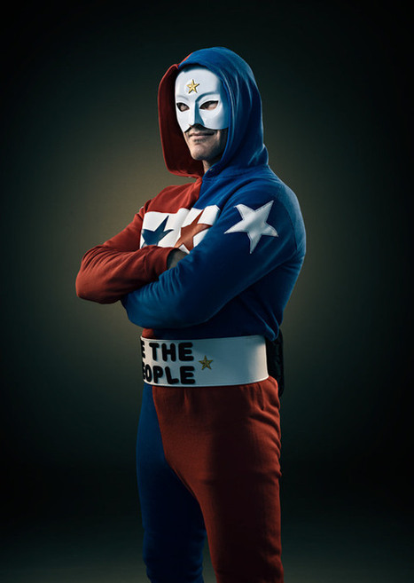Photographer documents real-life superheroes in portrait series ... | Heróis fantasiados da vida real | Scoop.it