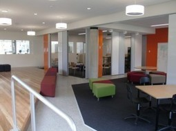"Leading Change: Five quick encouragements connected to innovative spaces (& a video) | Connected Principals | Contemporary Literacies -- Sometimes referred to as ""21st Century Skills!"" 