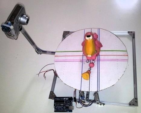 DIY : Fabriquer un scanner 3D à bas prix avec un Arduino et un appareil photo | Technologies innovantes | Scoop.it