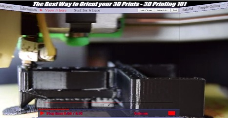 The Best Way to Orient your 3D Prints - 3D Printing 101 by Maker's Muse | Fabrication Numérique | Scoop.it