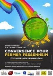 Convergence pour fermer Fessenheim 7 mars | démocratie énergetique | Scoop.it