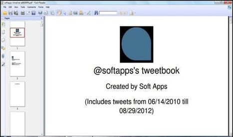 Tweetbook, crea un eBook en PDF con tus tweets en Twitter | Al calor del Caribe | Scoop.it
