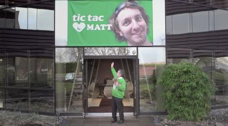 Matt, le millionième fan de Tic Tac devient une véritable star | Social Media, Evénementiel Sportif | Scoop.it