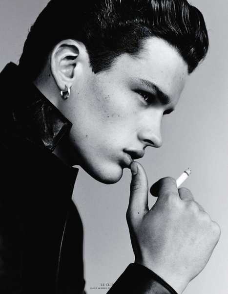 #THROWBACK - SIMON NESSMAN for VOGUE HOMMES SPRING/SUMMER 2011 | THEHUNKFORM.COM | Scoop.it