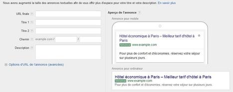 Les Nouvelles Annonces AdWords Débarquent ! Boost Your Web | Animation Numérique de Territoire | Scoop.it