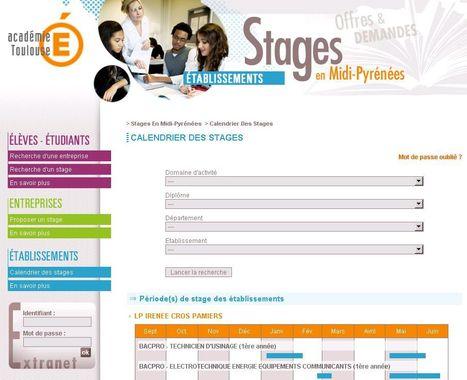 Stages en Midi-Pyrénées : Stages en Midi-Pyrénées | Ressources pour l'Orientation | Scoop.it