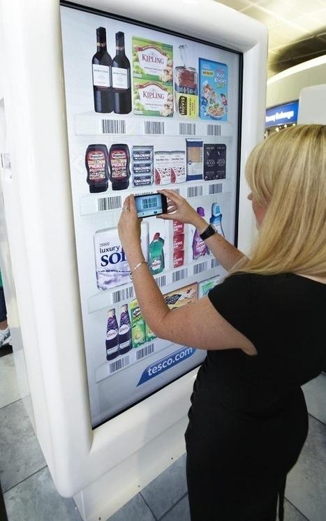 Tesco lance la première épicerie virtuelle   streetmarketing   Scoop.it