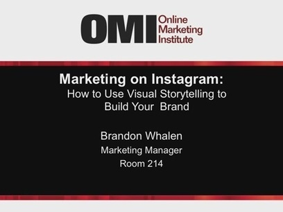 Marketing on Instagram: How to Use Visual Storytelling to Build Your Brand | Digital Marketing Best Practices | Scoop.it