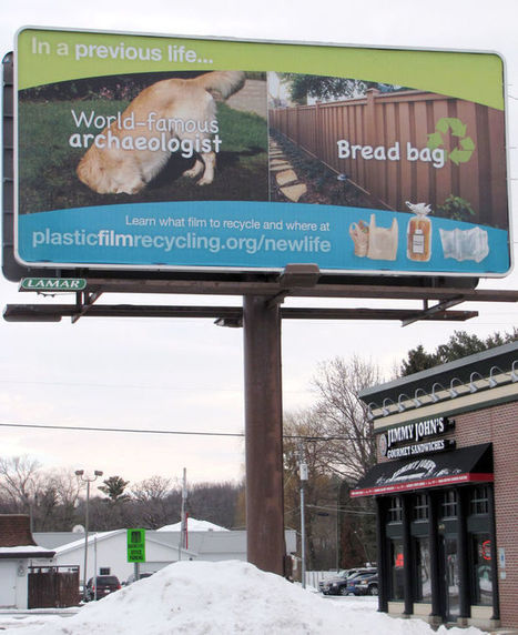"Plastic film, bag recycling campaign hits Dunn County (""education, recovery & recycling of plastic"") 