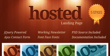 ThemeForest - Hosted v.1.0 - Hosting Landing Page » SCRiPTMAFiA.ORG | Download Full Nulled Scripts | Unique Design | Scoop.it