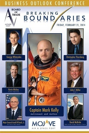 Kelly, Whitesides to Headline Business Conference at Mojave Spaceport | Parabolic Arc | The NewSpace Daily | Scoop.it